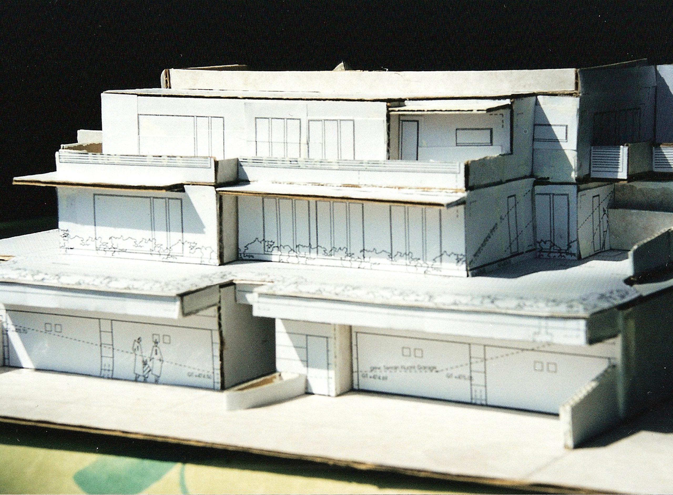 BAU-TOP AG, Neubau Terrassenhaus, Bassersdorf